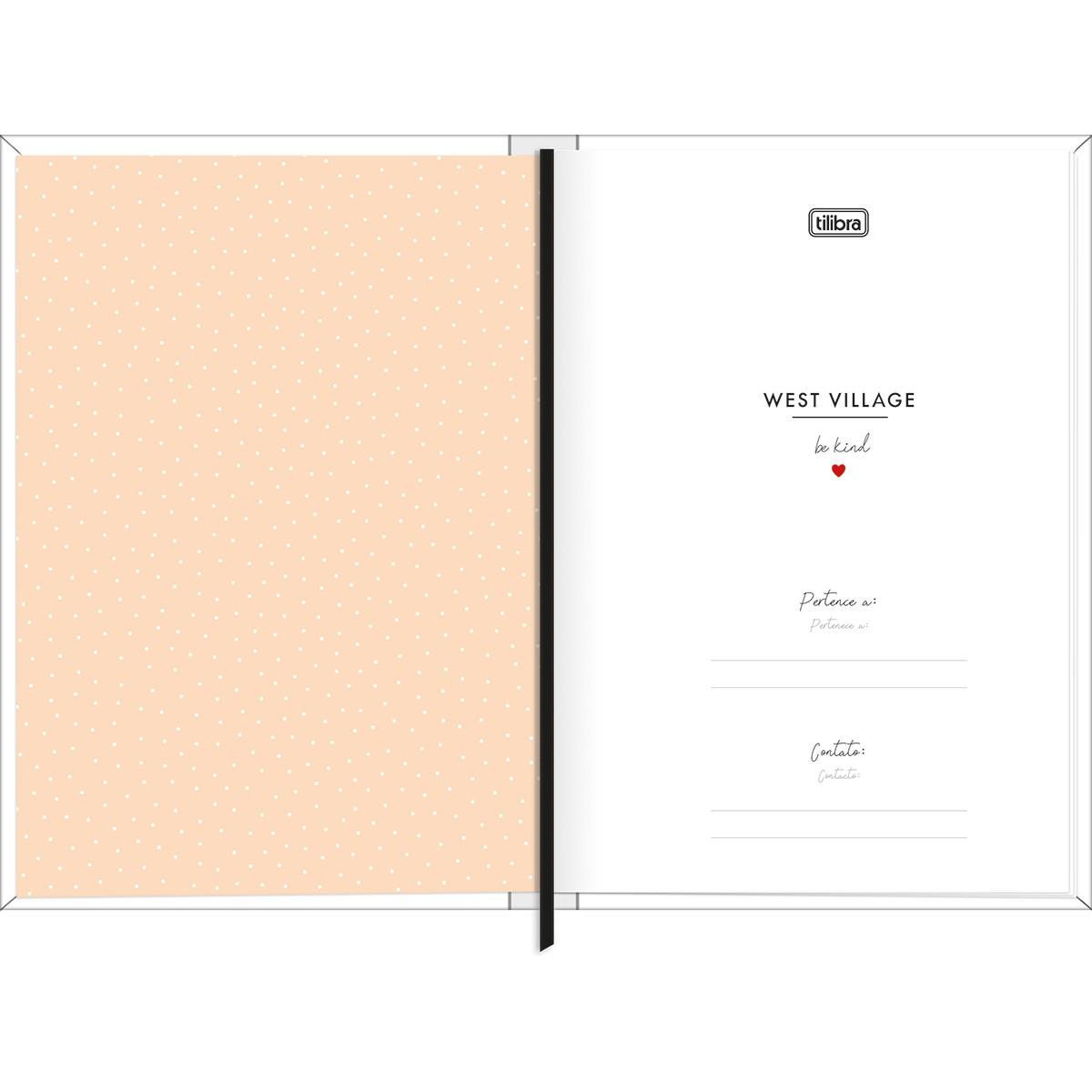 Planner Costurado West Village 2022 Tilibra  - Bibiane Papelaria