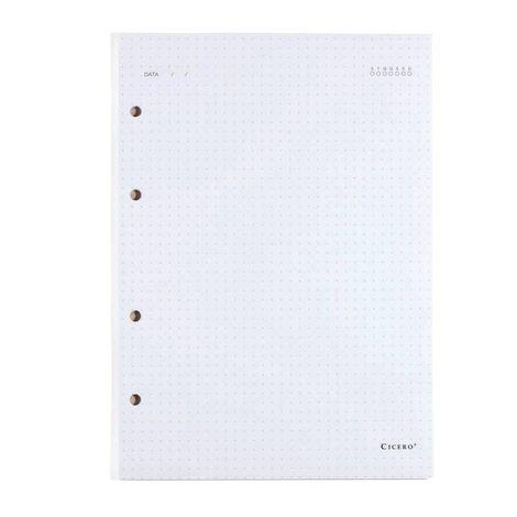 Refil Caderno Criativo Argolado Cícero  - Bibiane Papelaria