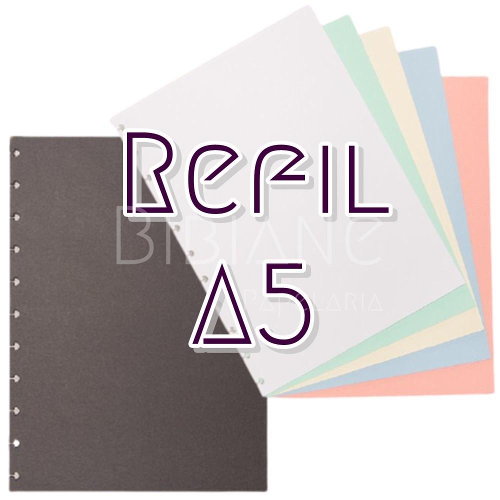 Refil Caderno Inteligente A5  - Bibiane Papelaria
