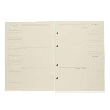 Refil Planner Caderno Criativo Argolado Cícero  - Bibiane Papelaria
