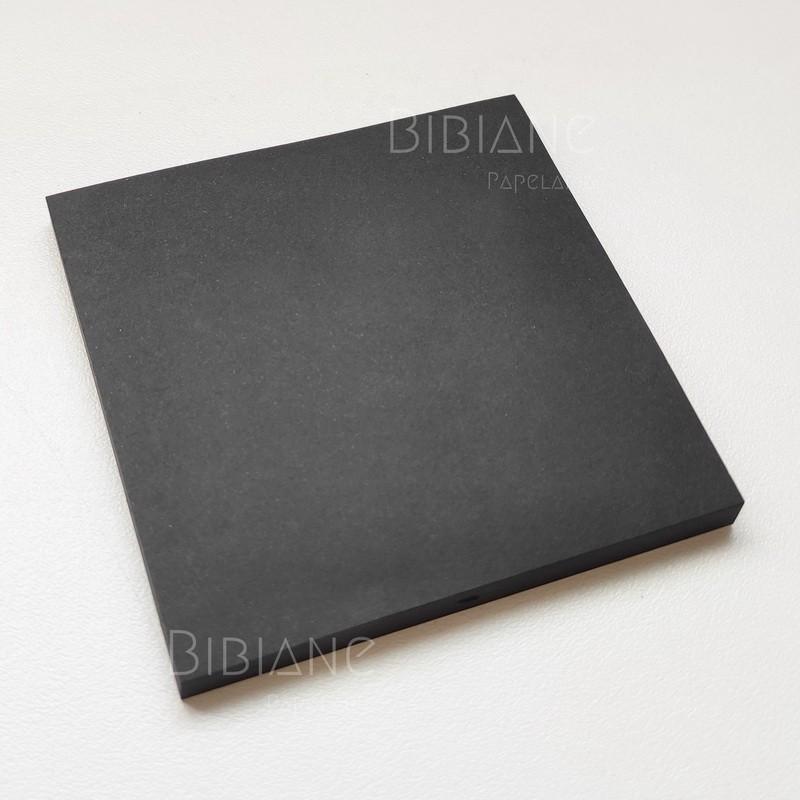 Sticky Notes Preto  - Bibiane Papelaria
