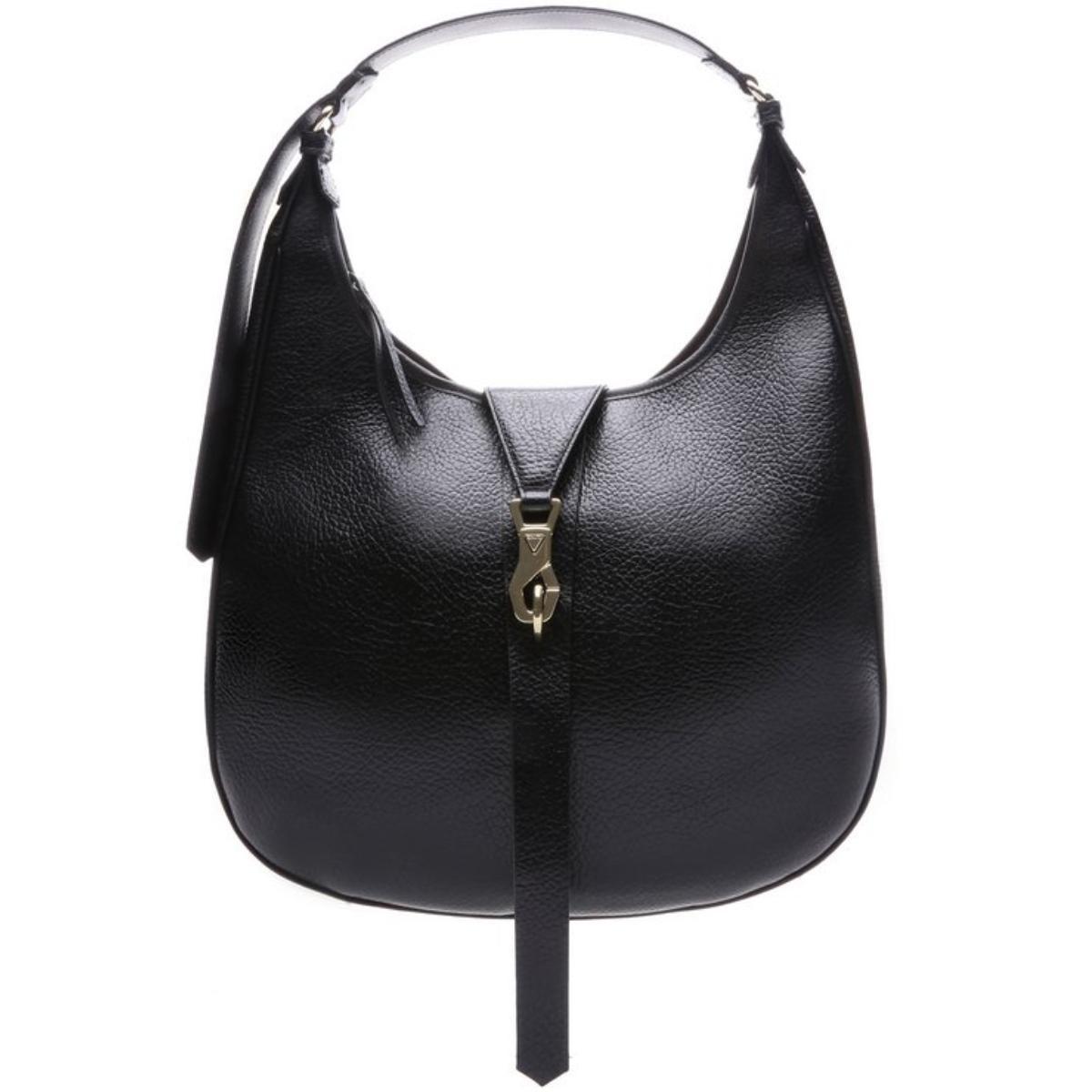 Bolsa Maxi Hobo Bag Berta Black - Schutz