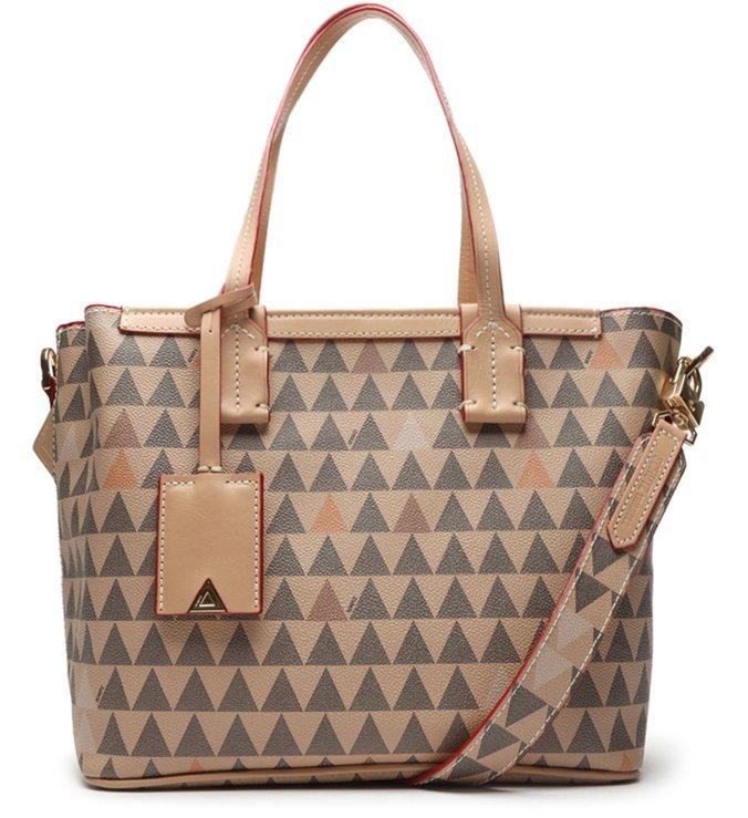 Bolsa Mini Shopping Nina Amendoa - Schutz