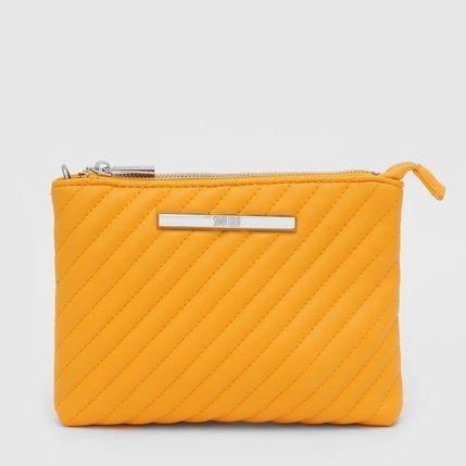 Bolsa Pequena Classic Matelassê  Amarela - Santa Lolla