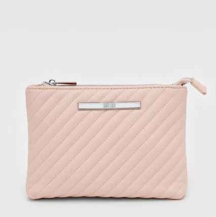 Bolsa Pequena Classic Matelassê Rosa - Santa Lolla