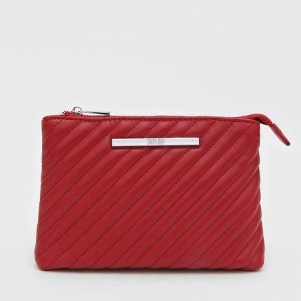 Bolsa Pequena Classic Matelassê Vermelha - Santa Lolla