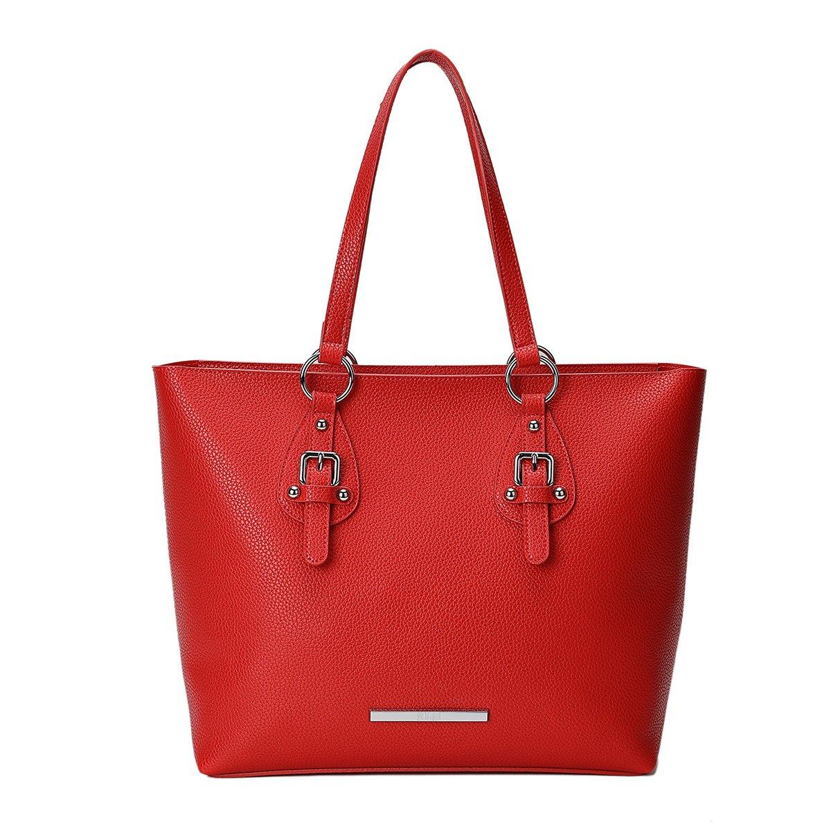 Bolsa Shopper Foater Fivela Vermelha - Santa Lolla