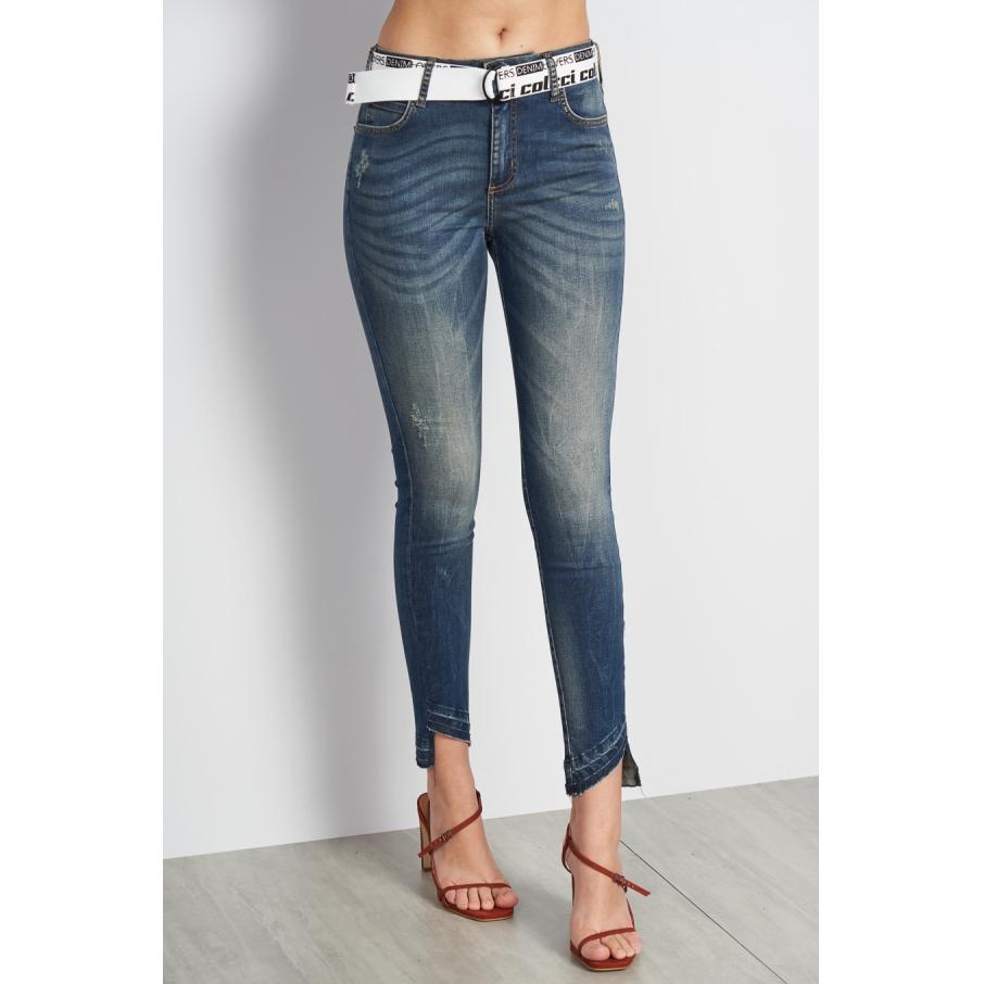 Calça Jeans Bia Com Cinto - Colcci
