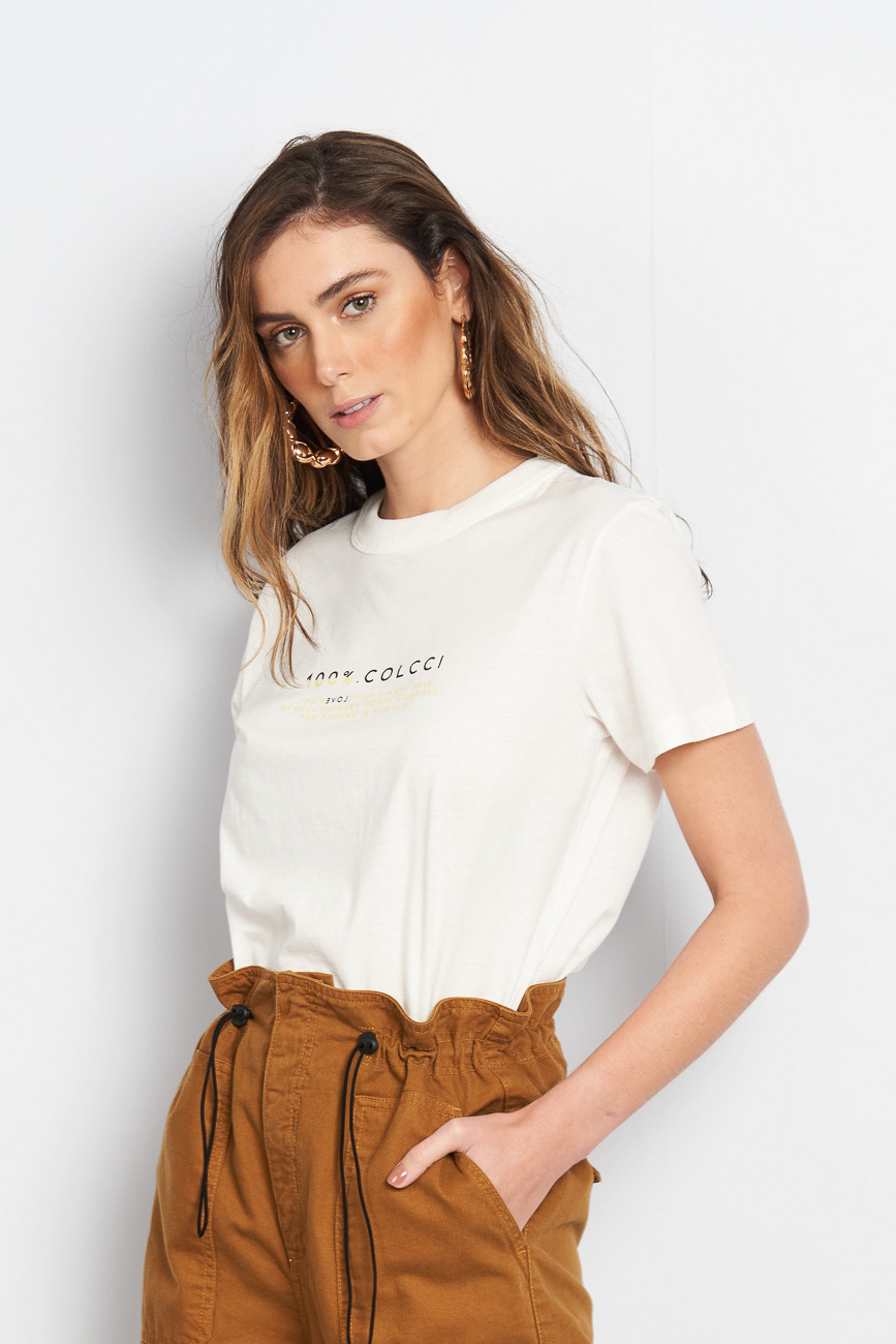 Camiseta Colcci Basic