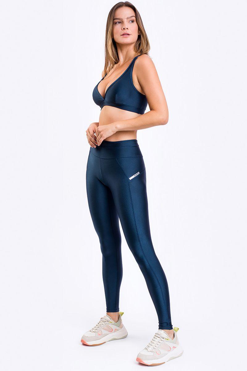 Legging Fitness Colonial Azul Marinho - CCM
