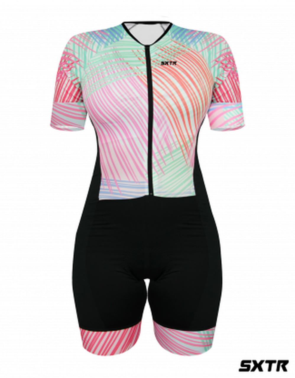 Macaquinho de Ciclismo Confort Feminino - SportXtreme