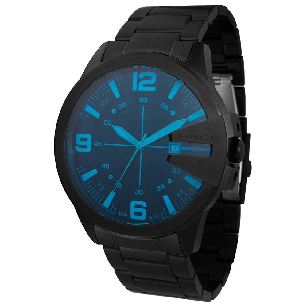 Relógio LINCE Masculino Analógico MRN4485L P2PX Preto