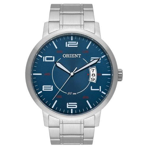 Relógio Masculino Orient Analógico Mbss1381 D2Sx Prata