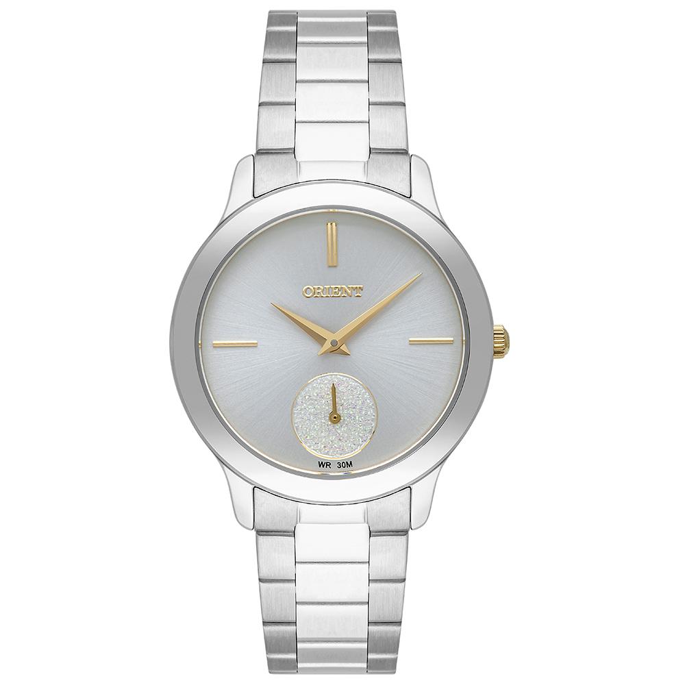 Relógio Orient Eternal Feminino Analógico FTSS0104 XXX Prata