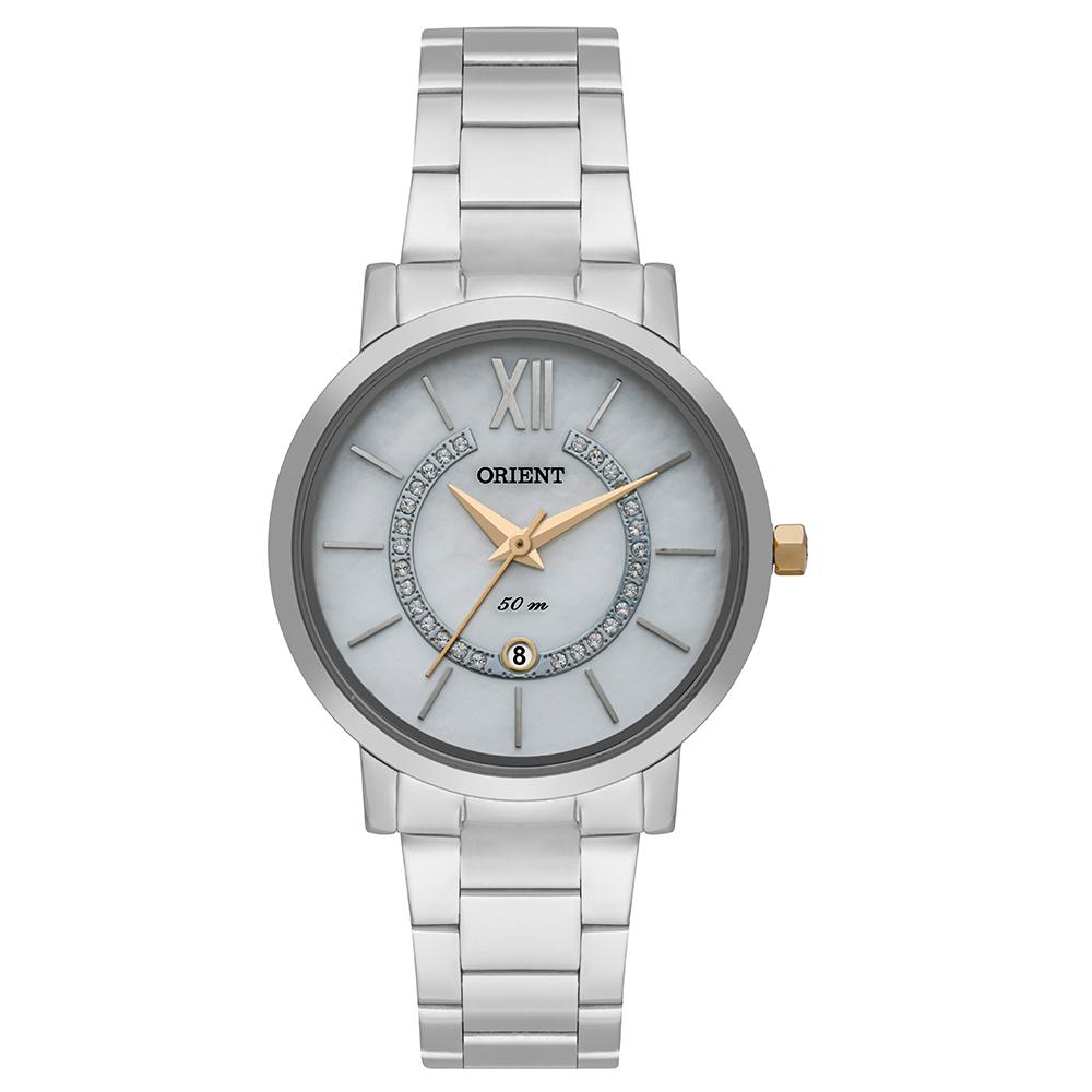 Relógio Orient Eternal Feminino Analógico FTSS1133 Prata