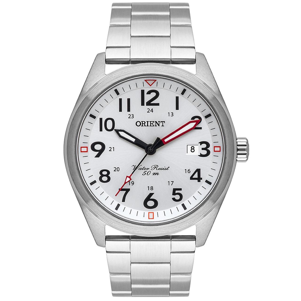 Relógio Orient Sport Masculino Analógico MBSS1396 Prata