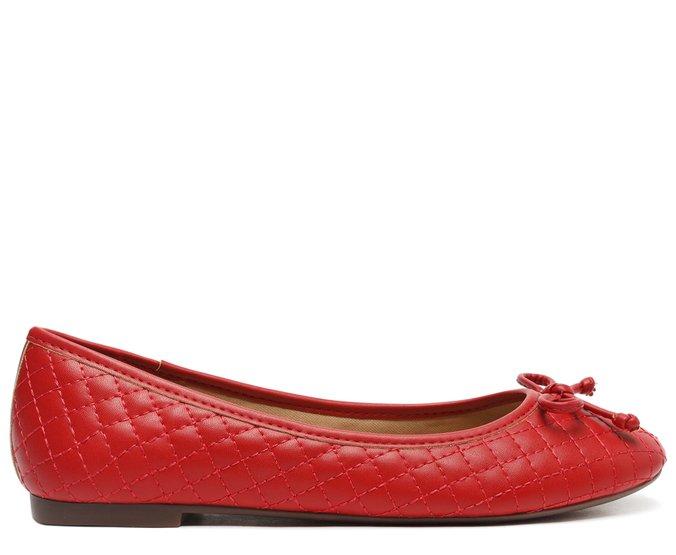Sapatilha Vermelha Matelassê - Anacapri