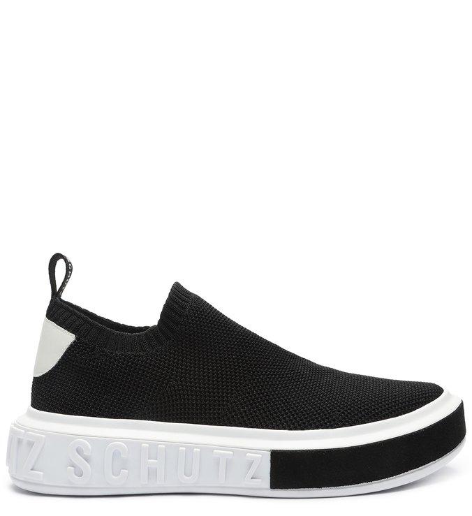 Sneaker It Schutz Bold Knit Black