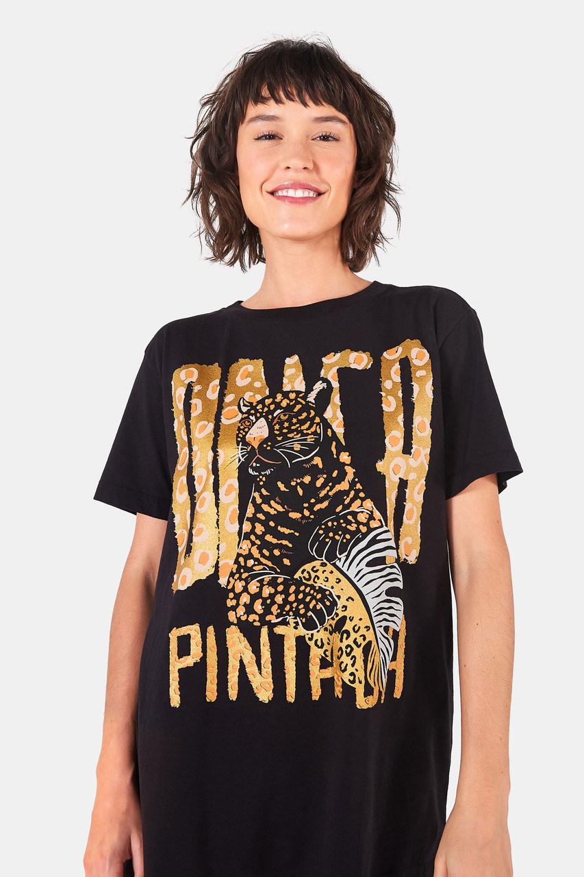 T-shirt Média Onça Pintada - Farm