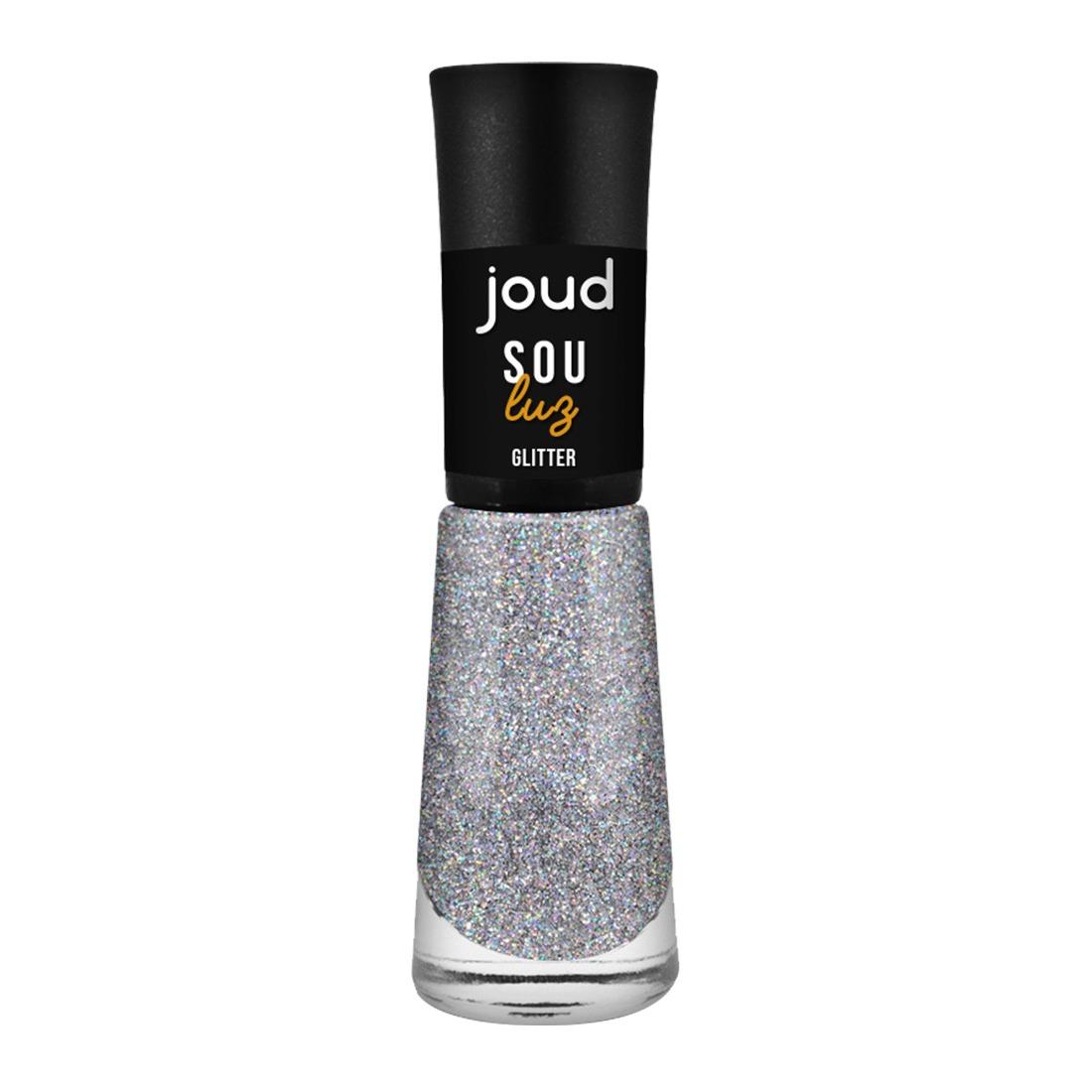 Esmalte Joud Glitter Sou Luz 8ml