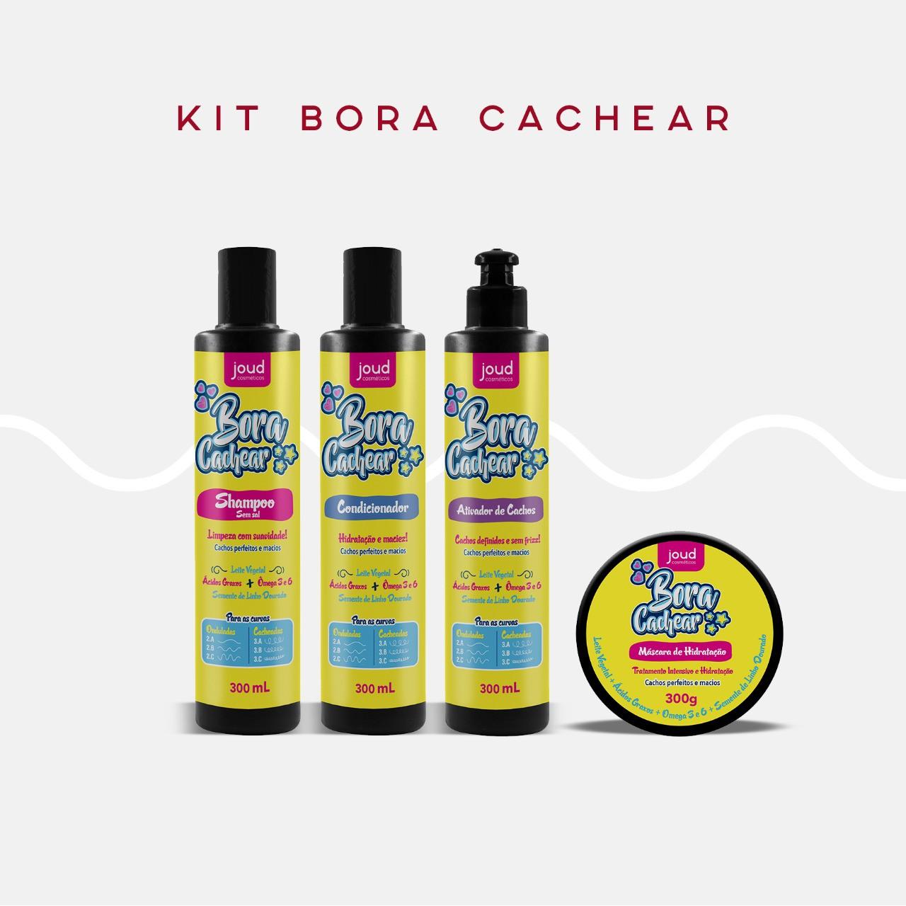 Kit Bora Cachear Joudc/4
