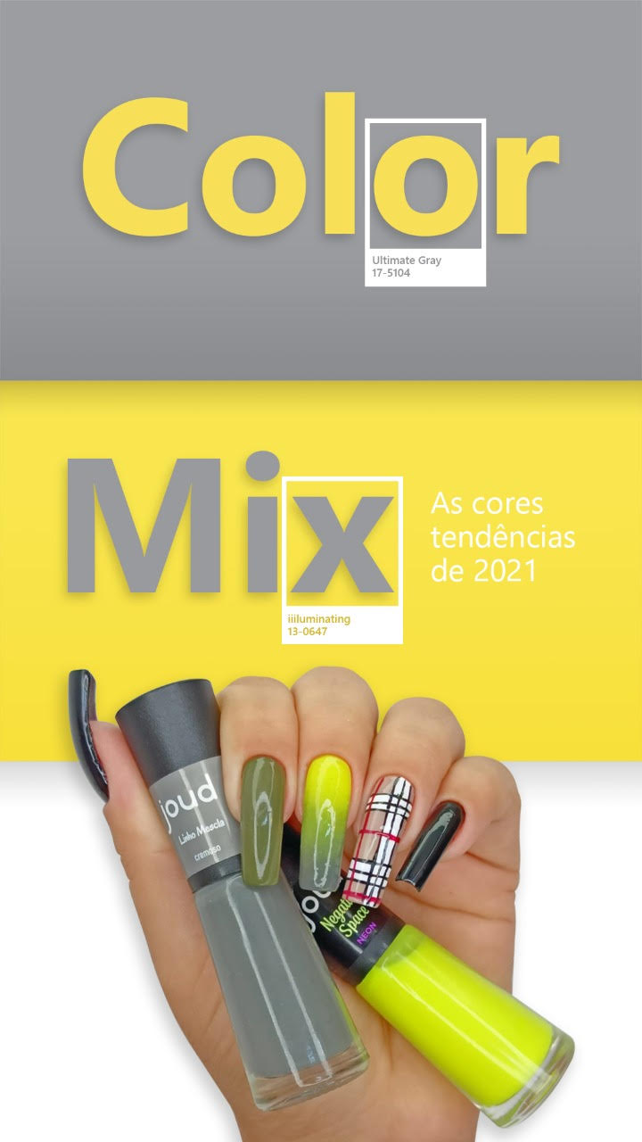 Kit Esmalte Joud Color Mix c/27 cores