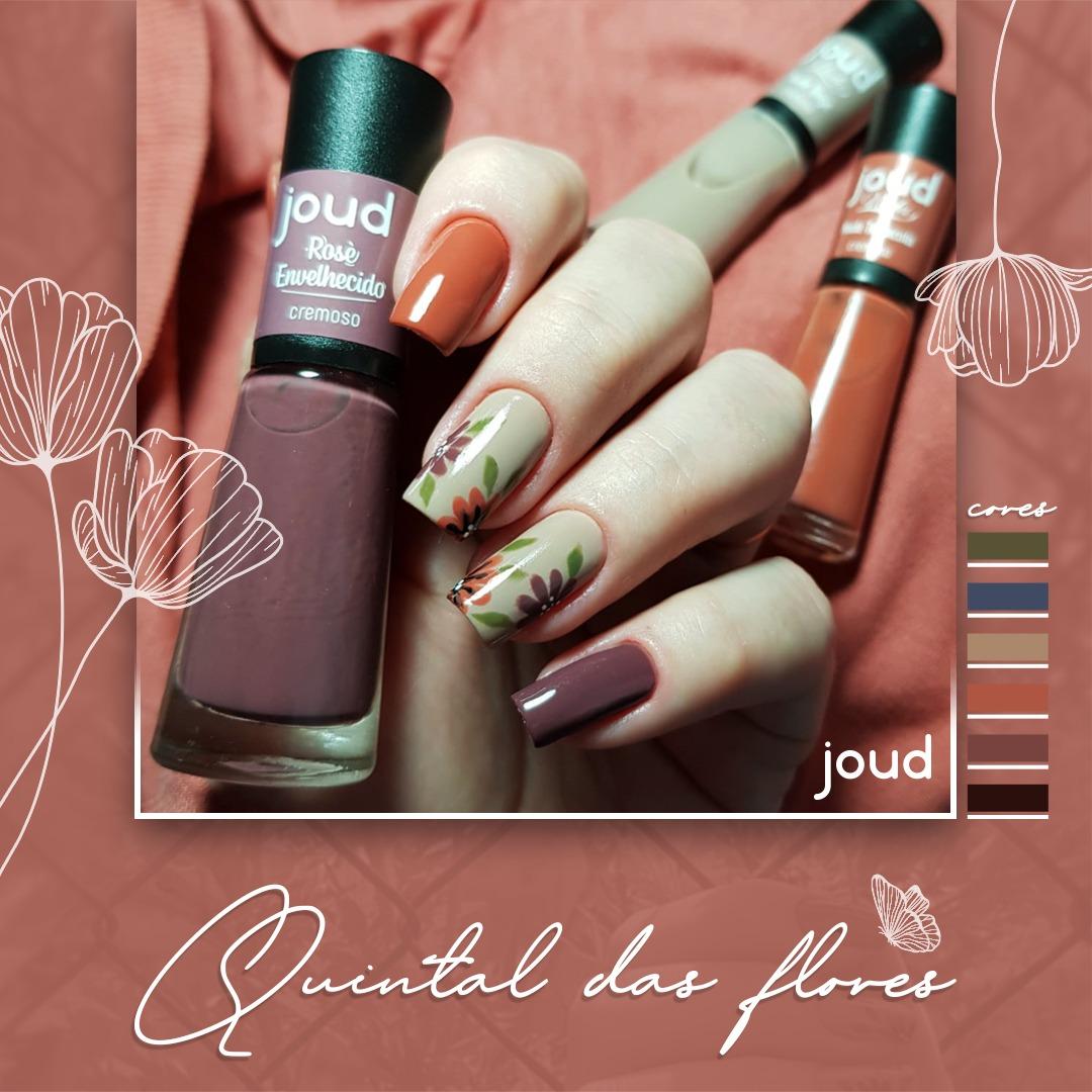 Kit Esmalte Joud Quintal das Flores c/6 cores