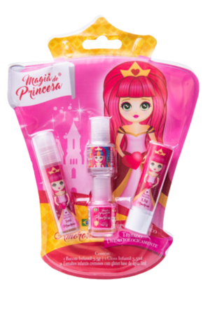 Kit Cosmético Infantil Princesa Amorosa