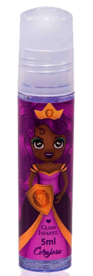 Kit Cosméticos Infantil Princesa Corajosa