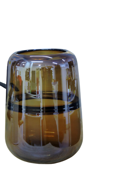 Vaso Decorativo de Vidro - 16x22cm
