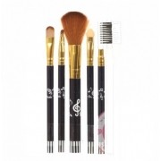 Combo Makeup Bursh Yiqing - Kit De Pincéis Preto