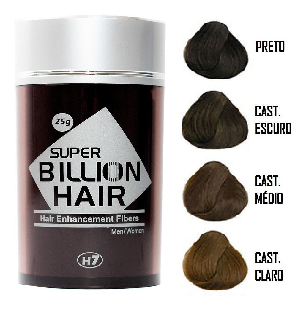 Maquiagem para Calvície - Super Billion Hair - 25g