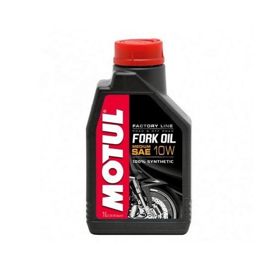 ÓLEO SUSPENSÃO MOTUL FORK OIL FACTORY LINE 10W 1 LITRO