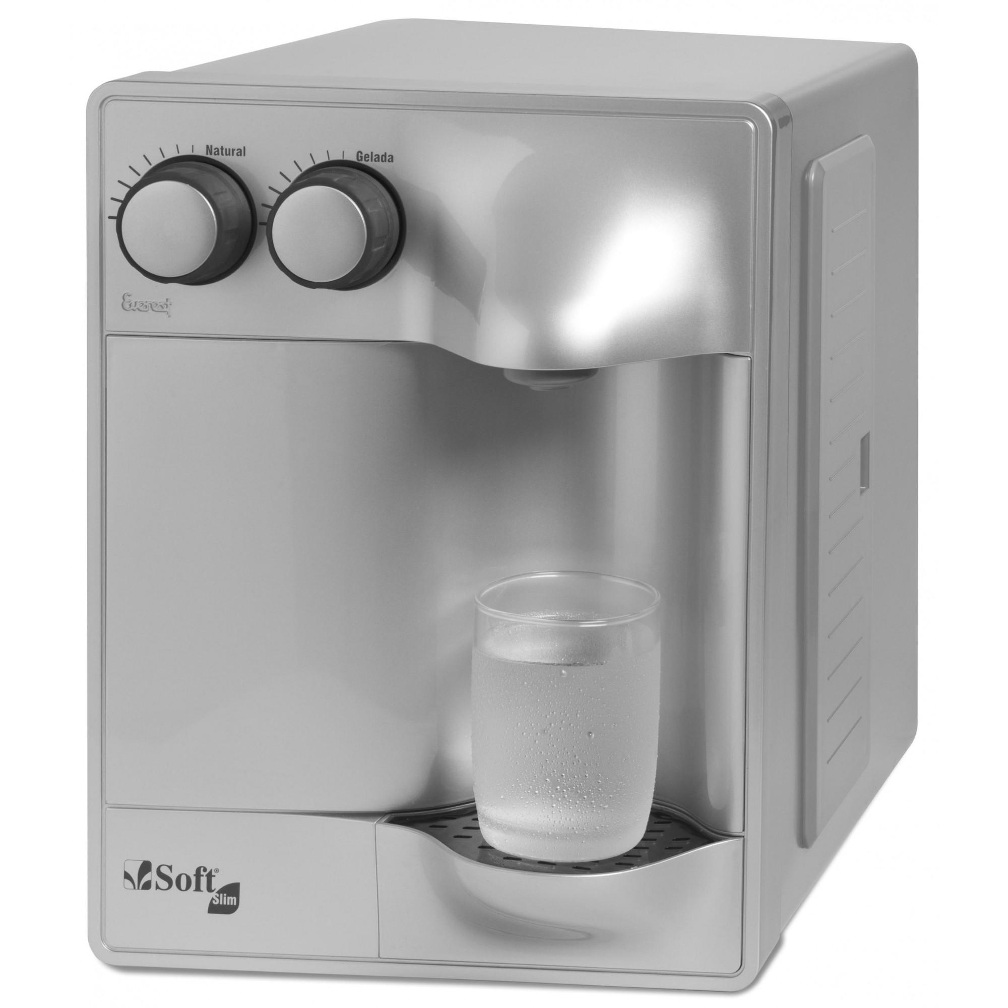 Purificador de Água Soft Slim Prata  - Agua Mais