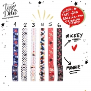 Washi Tape Mickey e Minnie Magic