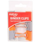 Binder Clips Soft - 6 unidades