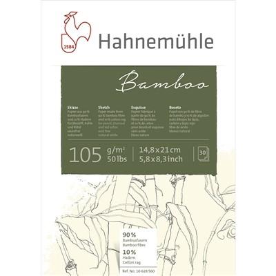 Bloco Bamboo Sketch Hahnemühle - A5, 105g/m², 30 folhas, Fibras de Bamboo