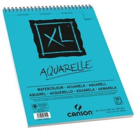 Bloco XL Canson A4 Aquarelle - 300g/m²,  30 folhas