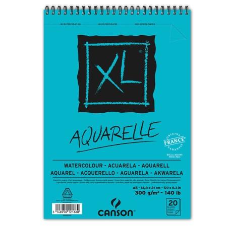 Bloco XL Canson A5 Aquarelle - 300g/m²,  20 folhas