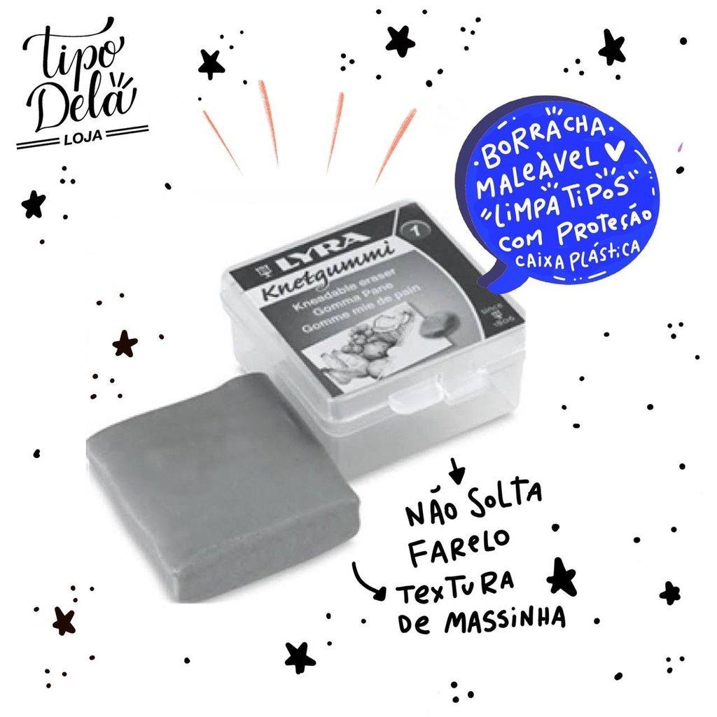 Borracha Artística Lyra - Maleável, Profissional