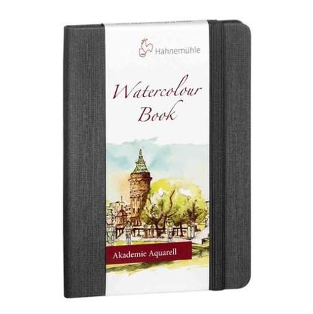 Caderno Watercolor Book A6  Aquarela, 200 g/m², 30 folhas