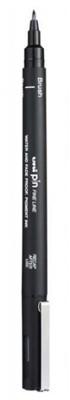 Caneta UniPin 0,1mm - Brush, Preta