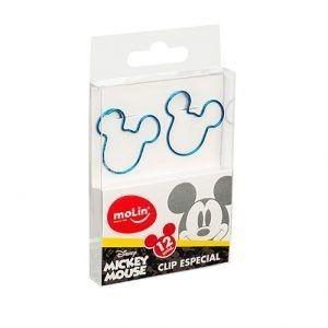Clips Mickey Face - 12 unidades