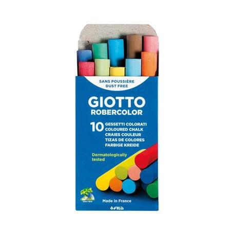 Giz Escolar Giotto Colorido - 10un.