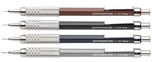 Lapiseira Técnica Pentel GraphGear 500