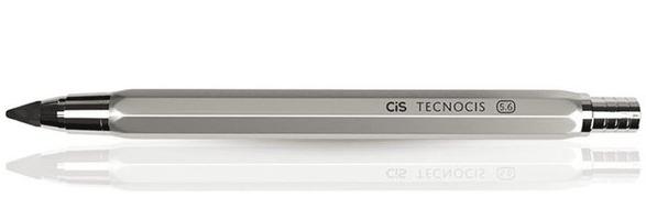 Lapiseira Técnica TecnoCis Cinza - Grafite 5,6mm