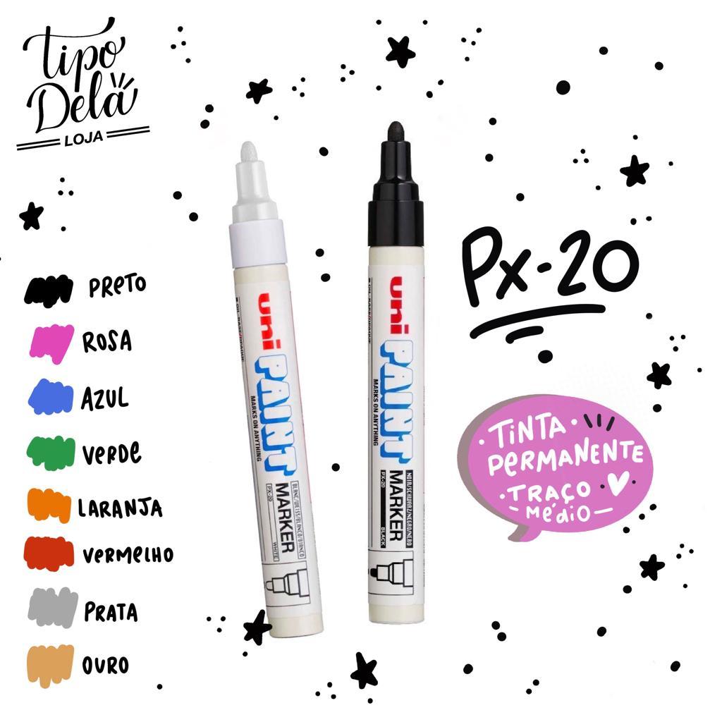 Marcador Permanente Unipaint PX-20