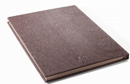 Sketchbook Cappuccino Book - Folhas tom Café, A5,  120g/m2, 40 folhas