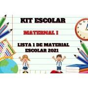 KIT ESCOLAR - MATERNAL I