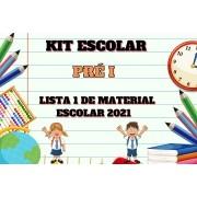 KIT ESCOLAR - PRE I